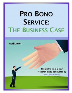 COVER PRO BONO BUSINESS CASE
